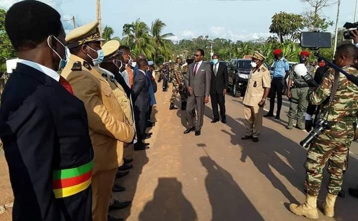 Envoie une mission d'aide humanitaire Camerounaise à Bata